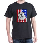 English Bulldog Made in the U Dark T-Shirt