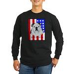 English Bulldog Made in the U Long Sleeve Dark T-S