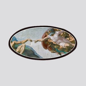 The Creation of Adam by Michelangelo Patches