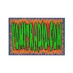 VomitRadio Rectangle Magnet (100 pack)