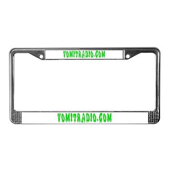 VomitRadio License Plate Frame