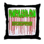 VomitRadio Throw Pillow