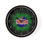 VomitRadio Wall Clock