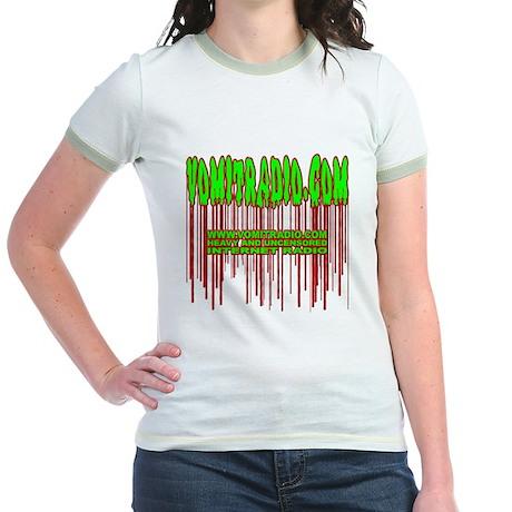 VomitRadio Jr. Ringer T-Shirt