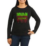 VomitRadio Women's Long Sleeve Dark T-Shirt
