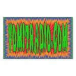 VomitRadio Rectangle Sticker