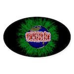 VomitRadio Oval Sticker