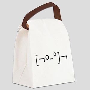 Kaomoji Zombie Japanese Emoticon Canvas Lunch Bag