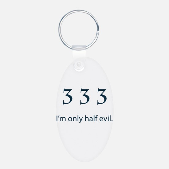 Half Evil Keychains