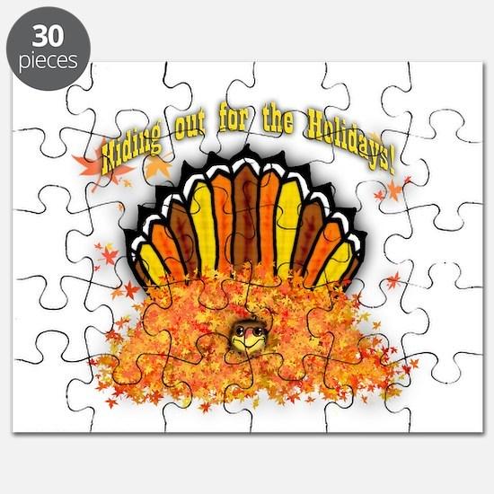 Hiding out Turkey Puzzle