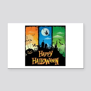 Happy Halloween Rectangle Car Magnet