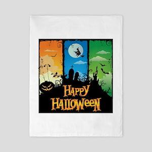 Happy Halloween Twin Duvet