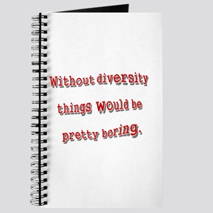 Without Diversity Journal