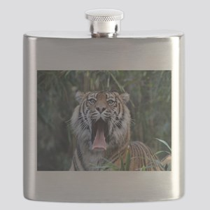 Love hunger Sumatran tiger Flask