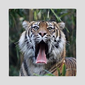 Love hunger Sumatran tiger - Copy (2) Queen Duvet