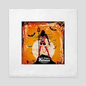Halloween Vixen Queen Duvet