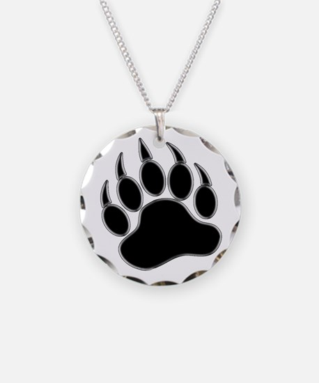 GAY BEAR PRIDE Gay Bear Paw Necklace