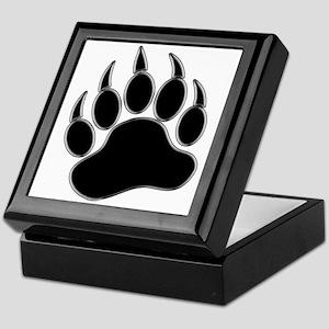 GAY BEAR PRIDE Gay Bear Paw Keepsake Box