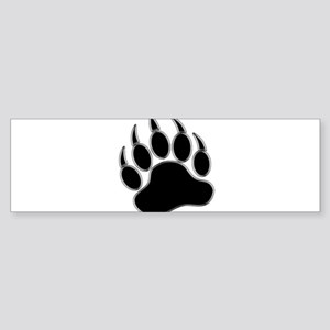 GAY BEAR PRIDE Gay Bear Paw Sticker (Bumper)