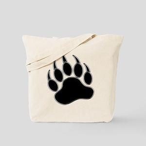 GAY BEAR PRIDE Gay Bear Paw Tote Bag