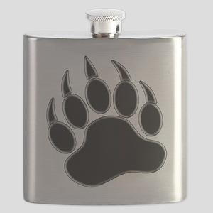 GAY BEAR PRIDE Gay Bear Paw Flask