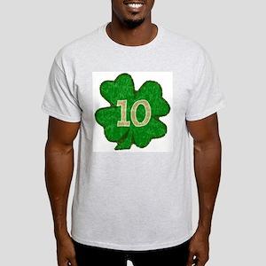 Quinn Shamrock #10 Ash Grey T-Shirt