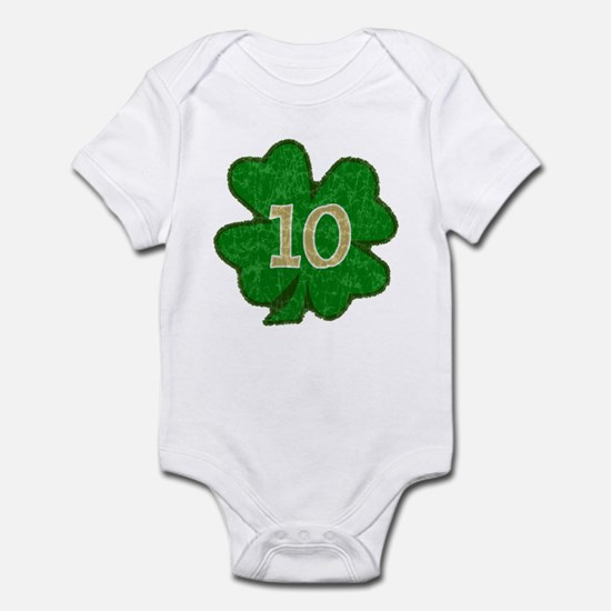 Quinn Shamrock #10 Infant Bodysuit
