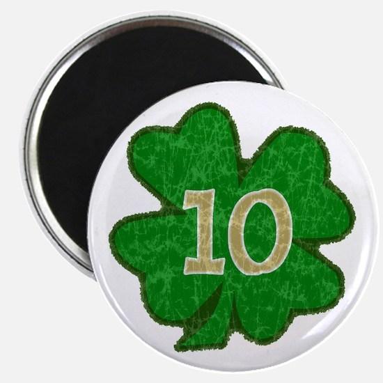 Quinn Shamrock #10 Magnet