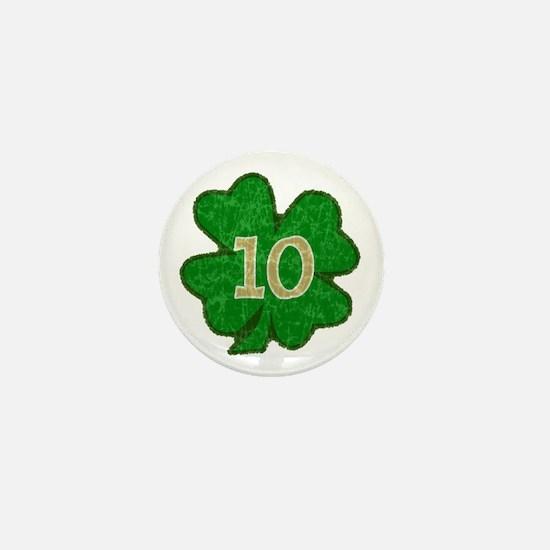 Quinn Shamrock #10 Mini Button