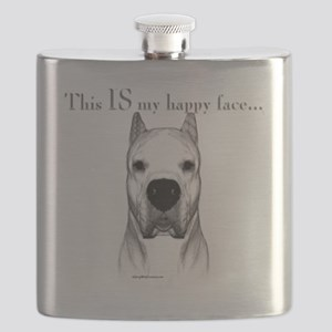 Dogo Happy Face dark Flask
