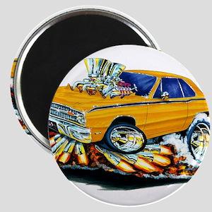 Dodge Dart Orange Car Magnets