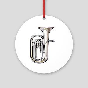 euphonium brass instrument music realistic Ornamen