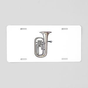 euphonium brass instrument music realistic Aluminu