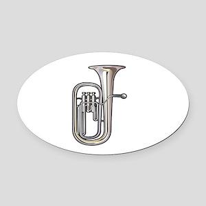 euphonium brass instrument music realistic Oval Ca