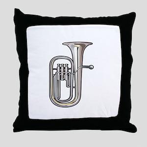 euphonium brass instrument music realistic Throw P