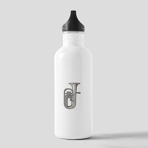 euphonium brass instrument music realistic Water B