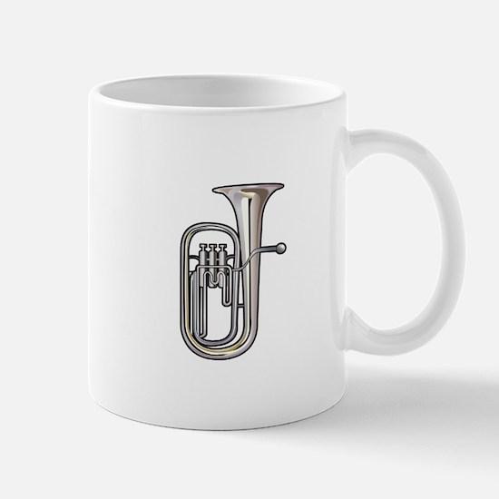 euphonium brass instrument music realistic Mugs