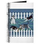 Siberian Husky Puppy Pen Journal
