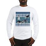 Siberian Husky Puppy Pen Long Sleeve T-Shirt