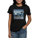 Siberian Husky Puppy Pen Women's Dark T-Shirt