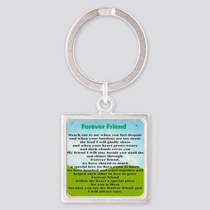 Friendship Square Keychain