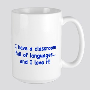 classroom full of languages Mugs