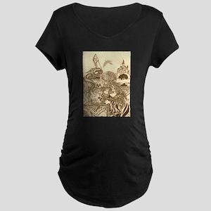 Woodland Woman Maternity T-Shirt