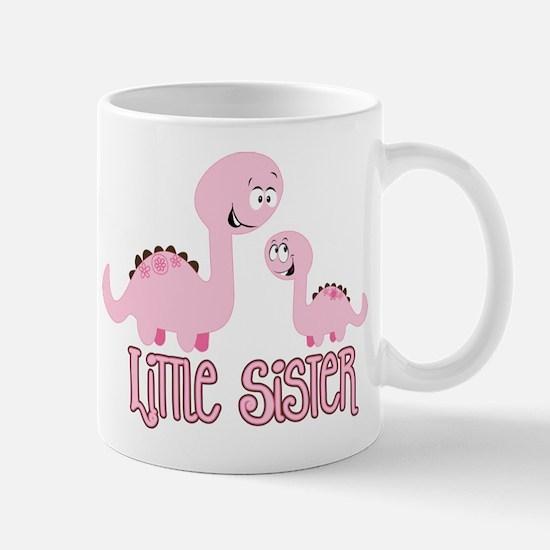 Little Sister Dinosaur Mug