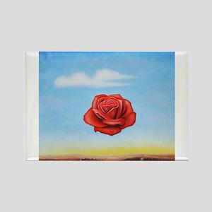 Meditative Rose Magnets