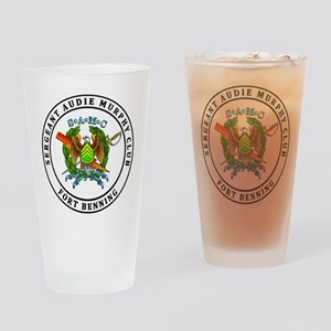 FT Benning SAMC Drinking Glass