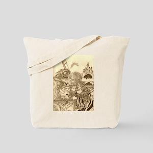 Woodland Woman Tote Bag