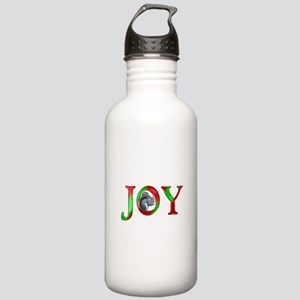 Christmas Joy Squirrel Stainless Water Bottle 1.0L