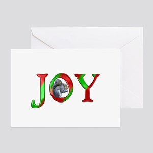 Christmas Joy Squirrel Greeting Cards (Pk of 20)