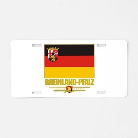 Rheinland-Pfalz (Flag 10).png Aluminum License Pla